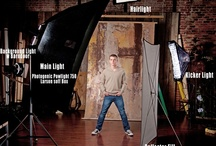 Lighting  / This board covers lighting foundations. We also have boards dedicated to various lighting situations, as well as the tools to help with artificial lighting. / by Digital Photography School