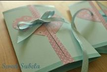 Handmade invitations / by Sweet Subela