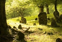 old cemeteries and graveyards = peaceful / by Karla Blevins