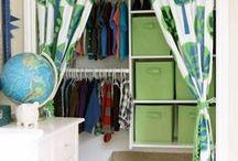 Closets..Storage / by bella jewels