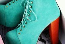Shoe Love / Shoes, heels, platforms, wedges, pumps & sandals  / by Eryka Agnes