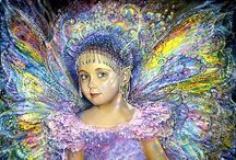 FAIRiES AND ANGELS / by Jeanne Boniface