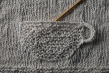 Knitspiration Detailing / Knitting inspiration from fashion or runway knits, in zoom detail. / by Dayana Knits