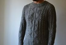 Men's Knitting Patterns / XY patterns, so hard to find good ones! / by Dayana Knits