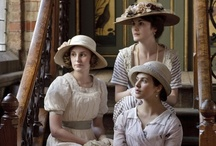 Downton Abbey / A period drama set in 1910s-1920s about the Crawley family and servants. Created by Julian Fellowes and it first aired on 26th September 2010 on ITV. Opening theme tune is 'Did I make the most of loving you?'  / by Rebekah Creane