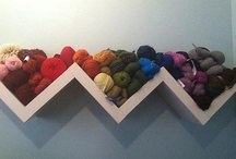 yarn storage / by Emmy Andriopoulou