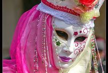 Venetian Masks / Carnival Venice Italy / by Cheryl E