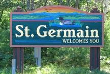 St. Germain, Wisconsin / Home of the Authentic Northwoods Experience! / by St. Germain Area Chamber of Commerce, Inc.
