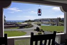 Seaside Cottage / Stage Neck Inn offers a grand seaside cottage  on the coast of Maine with plenty of room to relax! This beach home is ideal for weddings & family reunions. It is available for weekly rental (3-nights in shoulder seasons) and will accommodate up to 16 people. The cottage features 7 bedrooms and 5.5 bathrooms, bright common areas with breathtaking views, a large gourmet eat-in kitchen and a shaded veranda, just a few steps from the ocean. http://www.stageneck.com/grand-maine-seaside-cottage.html  / by Stage Neck Inn - York Harbor, ME