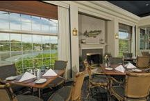 Dining at Stage Neck / The restaurants at Stage Neck Inn are open to the public. Harbor Porches is our main dining area with three sides of floor-to-ceiling windows which look out at the Atlantic Ocean. It also serves as our afternoon venue for wedding receptions. Sandpiper Bar & Grille is more casual, and may also be used for small group meetings and luncheons. In the summer season, we also offer a screened Outdoor Terrace and Pool & Tennis Club Snack Bar. http://www.stageneck.com/our-restaurants.html / by Stage Neck Inn - York Harbor, ME