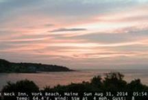 "York Maine Webcam / Stage Neck Inn now offers a live web camera of York Harbor, Maine #YorkHarborWebcam   Visit www.stageneck.com and click on ""Webcamera~Photos"" / by Stage Neck Inn - York Harbor, ME"
