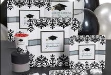 Grad Party and more Ideas / Graduation is such a special time in a young person's life so why not celebrate and celebrate HARD.  These are a collection of ideas that can be used for graduation and more.  GO BIG AND LETS PARTY!!!!    / by LaTasha Avila