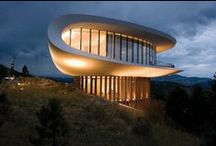 UFO Shaped Homes / Futuristic Houses / by Carlos Rodriguez