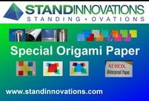 Paper for Origami & Other Projects / by Stand Innovations