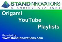 Origami YouTube Playlists / Origami fans. If you like a particular folder, a folding style, narrated or not, or for any other attribute, this board is for you.  Presenting an ever increasing origami playlists from YouTube, courtesy of www.standinnovations.com / by Stand Innovations