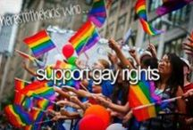 Gay Rights = Human Rights  / by NIU LGBT Studies