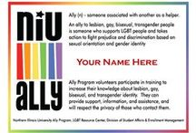 I am an ALLY / by NIU LGBT Studies