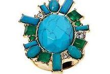 Jewelry Box ~ Shades of Turquoise / by Roksalana Drozd