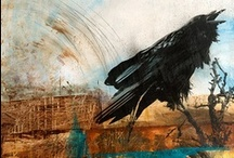 ravens & other inky birds / birds / by kathy