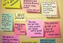 Quotes / by Jenna Jorgenson