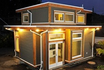 Tiny houses  / by Tom Thorson