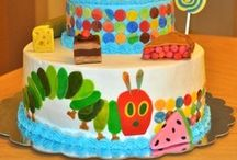 The Very Hungry Caterpillar / art inspired by Eric Carle's The Very Hungry Caterpillar~~ / by Rita Ip