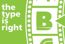The Type is Right / Can you guess the brand?  Answers can be found here http://pinterest.com/bladebranding/the-type-is-right-answers/ / by Blade Branding