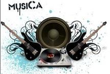 Música / Instrumentos músicais / by Carolina Vitoria