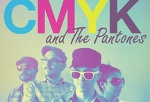 CMYK and The Pantones / by Blade Branding