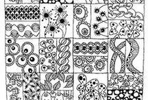 Doodle, Mandalas, Mendhi y Zentangles / by Paulina