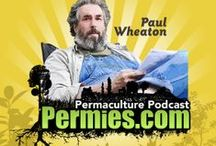 Permaculture Podcasts By Paul Wheaton / Paul Wheaton waxes on about all things Permaculture on these podcasts. You can download them or buy them in gobs http://www.scubbly.com/store/permaculture/ / by Permies