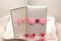 Little bundle of joy!! Baby!! / Handmade Invitation Boxes  / by Boxed Wedding Invitations