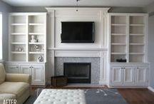 Livingroom makeover / by Heidi N Travis Zunk