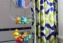 Itty Bitty Bathroom ideas / by Heidi N Travis Zunk
