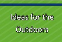 Outdoor Activities / Take it outside! There are lots of opportunities to learn and grow for children and adults! Here you'll find some ideas guaranteed to get you and your little one out in the great wide world, even if it is only your back yard. / by www.greatstartCONNECT.org