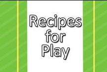 Recipes for Play / Tired of buying name brand modeling clay? Want to know how to make that slime your child was playing with in preschool? Look no further! This board is full of recipes for play! / by www.greatstartCONNECT.org