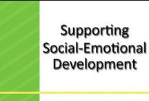 Supporting Healthy Social-Emotional Development / Healthy social-emotional development is key to your child's well-being and success in school and life. This board has resources, activities and ideas that can help. / by www.greatstartCONNECT.org