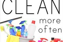 Cleaning / by Brittany CORN