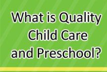 Learning about Quality Child Care and Preschool / Here families and child care/preschool providers can find great information about high-quality early learning and care. For anyone who cares for an infant, toddler or preschooler this board is a great place to help you learn about high-quality care.  / by www.greatstartCONNECT.org
