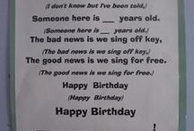 Birthdays / by Clancy Kuehnle