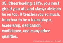 Cheer! / Everything and almost anything cheer  / by Raveyn Baca