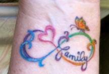 tattoo's / by Angela Smith