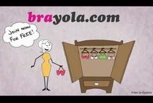 Brayola Shop / A bit about what makes brayola...well brayola :)  / by Brayola Personal Bra Shop