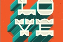 Typography Love / by marco favero