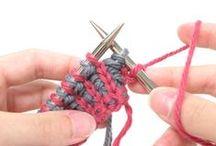knitting stitches / by Soledad Benavente