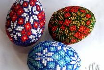 Beaded Eggs / by Theresa Rogers