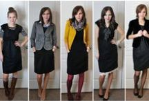 Business Casual in the workplace / While still professional in nature, Business Casual opens the door for more fun and relaxed outfit styles. / by Sage Office of Career Planning