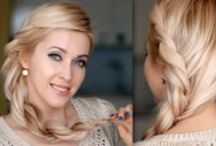 Hair / Hairdo and accessory ideas to inspire me to stay away from my usual busy mom ponytail. / by Marisol N.