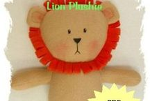 Marisol N. Creations - Easy Toy Sewing Patterns - Etsy Shop / Welcome to my Etsy shop, Marisol N. Creations, where I share my plush animal creations through downloadable PDF sewing patterns. Stop by often as I will be adding new creations soon. / by Marisol N.