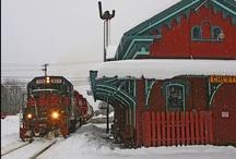 Trains Woo Woo / by Candy Sloan